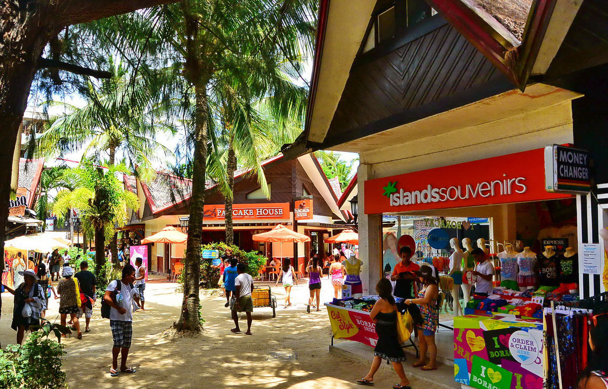 Image result for shop in boracay beach
